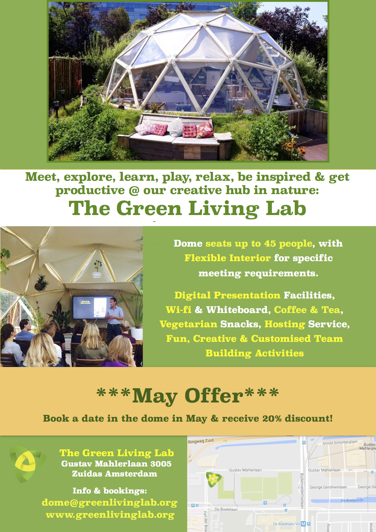 Green Living Lab Offer May 2017